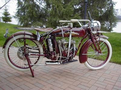 1917  Indian Powerplus Motorcycle