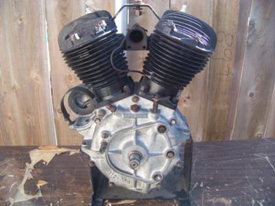 1931 V Harley Davidson Motorcycle Engine