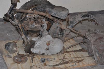 1934 NSU Motorcycle 501 OSL