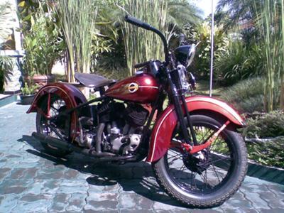 1938 1940 HARLEY DAVIDSON UL 1200 cc