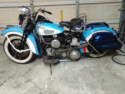 1940 Harley U Model Sidevalve Harley Davidson for Sale by Owner