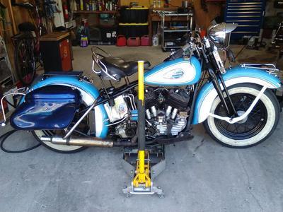 Old 1940 Harley U Model Sidevalve Harley Davidson for Sale by Owner