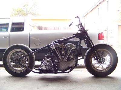 1940 Vintage Harley Davidson Knucklehead Motorcycle