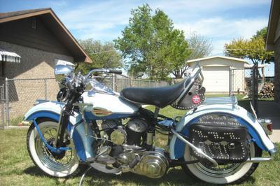 1941 Harley Davidson Softail WLD