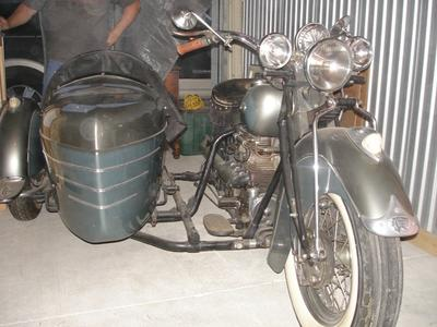 1941 Indian Four with SideCar for Sale