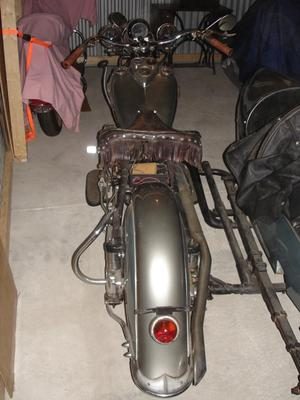 1941 Indian Four Rear Fender