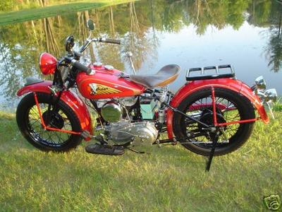 All original 1941 Indian Sport Scout