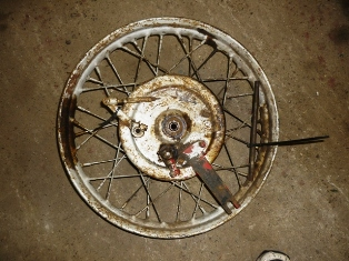 1941 Indian Scout 741 Front Wheel Rims ($1500)