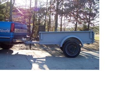 1943 Jeep Motorcycle Carrier ATV Trailer