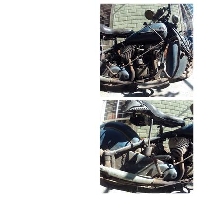 1944 Indian Chief Motorcycle