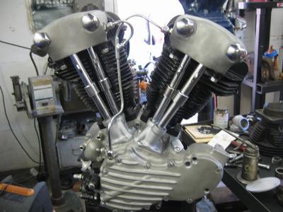 Rebuilt1946 EL Knucklehead Motor