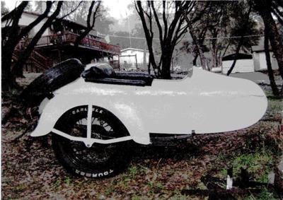 1946 Harley Davidson Sidecar