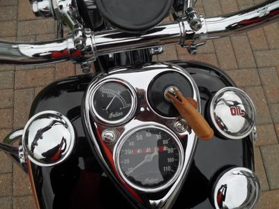1946 Indian Chief Motorcycle Instrument Gauge Cluster