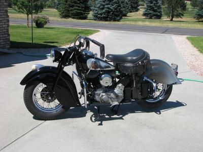 1946 INDIAN MOTORCYCLE with 80 INCH STROKER MOTOR