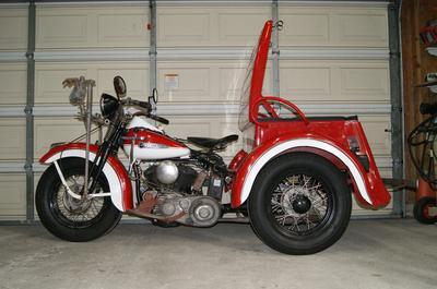 1947 Harley Davidson Servi Car Project for Sale
