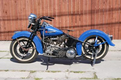 Titled 1948 Harley Davidson EL