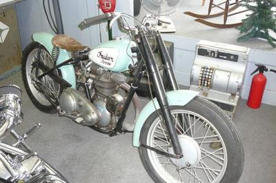1948 Indian Arrow Model 249 Motorcycle