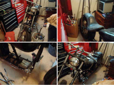 1949 Harley Davidson Panhead Rolling Chassis