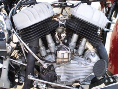 1949 Harley WL Engine