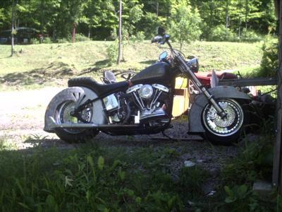 1949 Harley Davidson Panhead Shovelhead Motorcycle