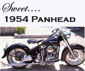 1954 Harley Davidson Panhead  50th Anniversary Edition - 1st Place Motorcycle Show Winner