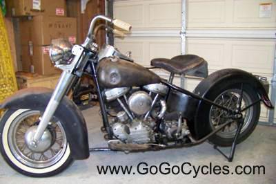 1957 Harley Davidson  FL Panhead