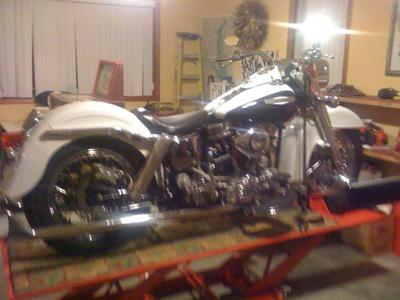 1957 Harley Davidson Panhead Show Motorcycle (example only; please contact seller for pics)