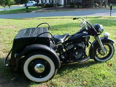 1958 Harley Davidson POLICE Servi Car