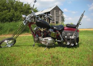 1959 VINTAGE HARLEY Davidson Sportster Chopper Motorcycle