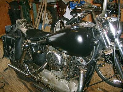 1961 Harley Davidson XLCH Sporty