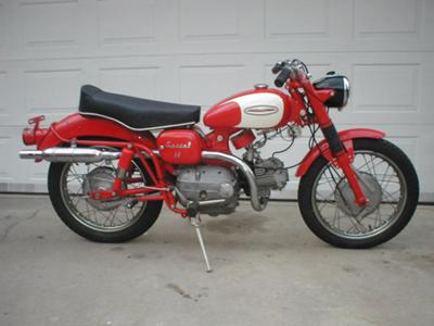 1962 Harley Davidson Sprint (example only)