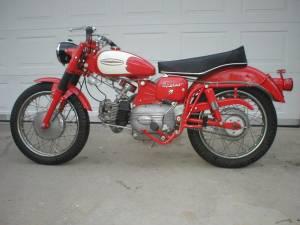 1962 Harley Davidson Sprint
