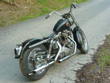 1963 Harley Davidson XLCH Sportster (this photo is for example only; please contact seller for pics of the actual motorcycle for sale in this classified)