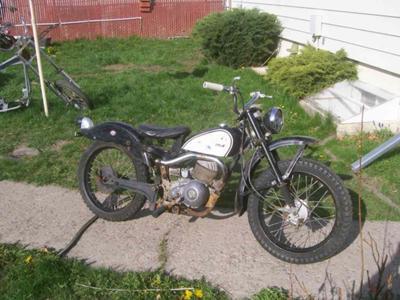 1965 Harley Davidson Scat