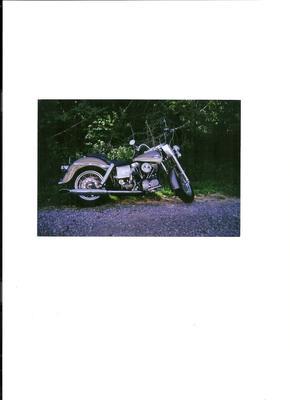 1965 Harley Davidson Electra Glide Panhead Motorcycle