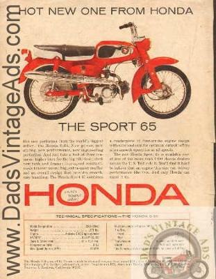 1965? Honda S65 65cc trailbike dirt bike dirtbike