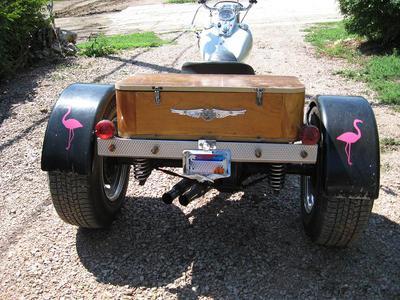 1966 Harley Davidson Servi Car