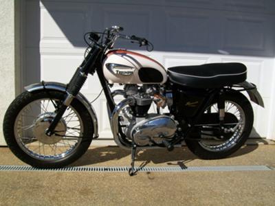 1966 Triumph Bonneville 650 For Sale