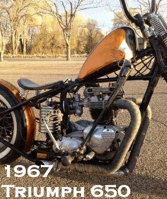 1967 Triumph 650 Custom, Award Winning Show Bike - A Beautiful Vintage Motorcycle