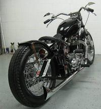 1967 Triumph tr6 motorcycle