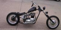 1968 Triumph bonneville motorcycle 650 hard tail classic chopper