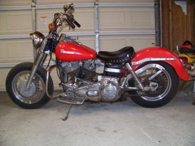 1968 Harley Davidson Slab shovel head Shovelhead