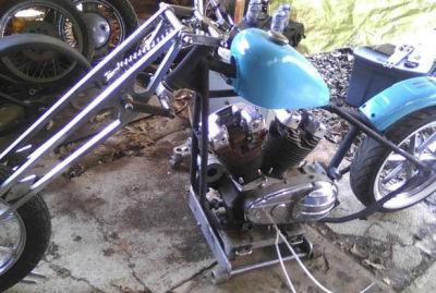 1968 Harley Sportster Basket Case
