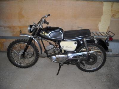 1968 Suzuki motorcycle