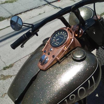 Fuel Tank 1969 FLH Bobber/Chopper motorcycle for sale by owner