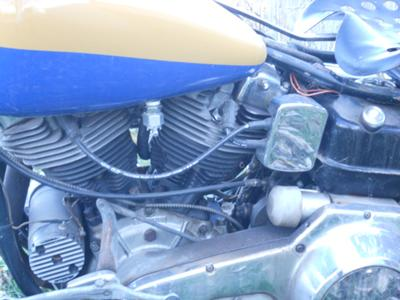 1969 Harley Davidson Electra Glide FLH (this motorcycle is for example only; please contact seller for pics of the actual motorcycle for sale)