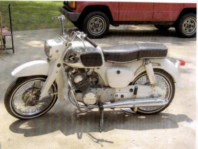 All Original 1969 Honda Dream 160CC Motorcycle