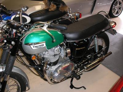 1969 Triumph Daytona 500 BMF