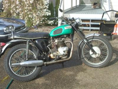 1969 Triumph Trophy 500cc Twin Motorcycle (example only)