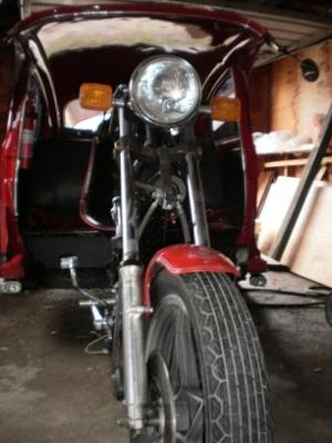 1969 VW Volkswagen Trike with 1985 Suzuki Front End (this photo is for example only; please contact seller for pics of the actual motorcycle for sale in this classified)
